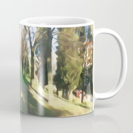Life on the natural brush Coffee Mug
