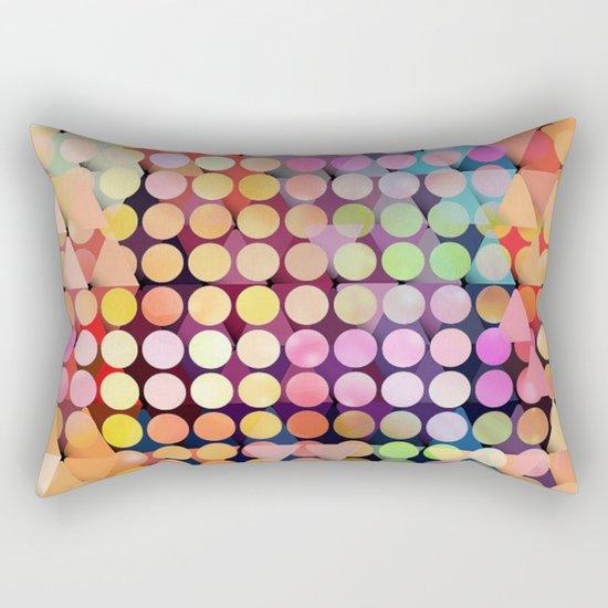 Geometric Party Rectangular Pillow