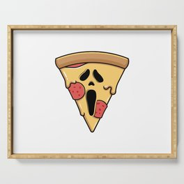 Scary Pizza Serving Tray