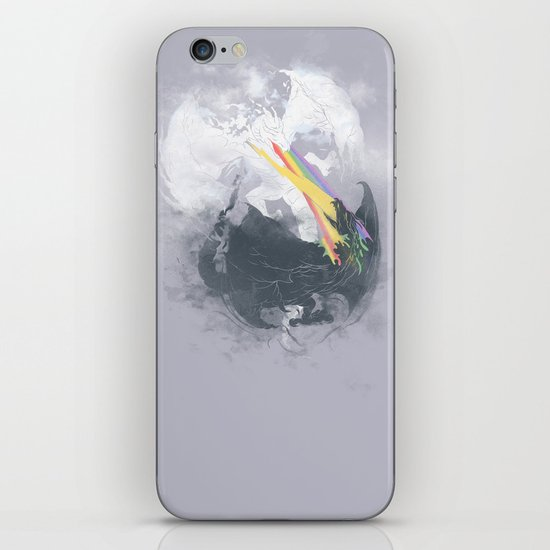 Clash of the sky Dragons iPhone & iPod Skin