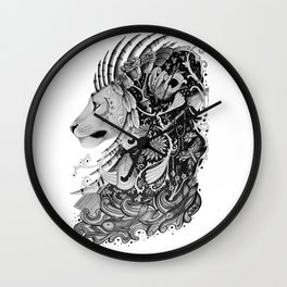 Brainstorm Lion Wall Clock