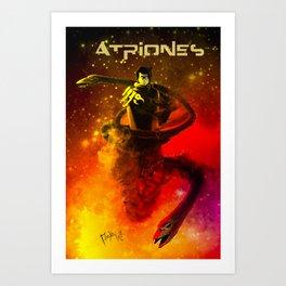 ATRIONES: AFICHE 2 Art Print