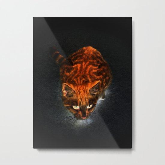 Pyroclastic Glow Metal Print