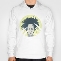 edward scissorhands Hoodies featuring edward scissorhands by Berkay Daglar