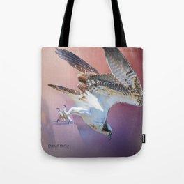 Feeding Osprey Tote Bag