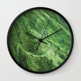 Madeira island Wall Clock