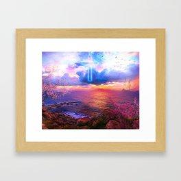 Center of faith Framed Art Print