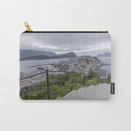 view to alesund - norway Carry-All Pouch