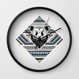 Indian Panda Wall Clock