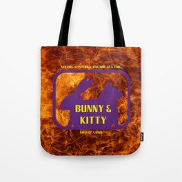 Bunny and Kitty Very Best Friends Tote Bag