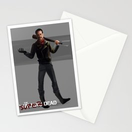 John Negan Winchester Stationery Cards