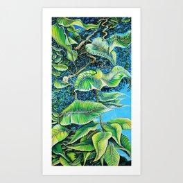 Julie's Jungle Art Print