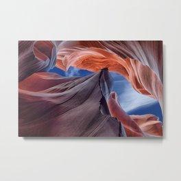 Mountain canyon Metal Print