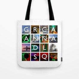 GCSQ#1, Grand Canal Square, Dublin, Ireland Tote Bag