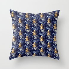 Queen Alice Throw Pillow