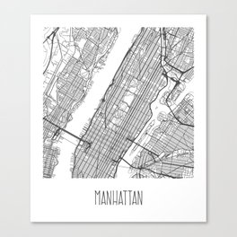 Manhattan Canvas Print