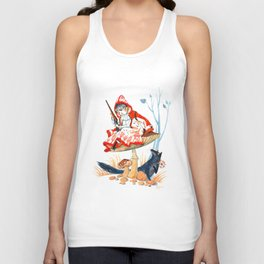 Little Red Riding Hood Unisex Tank Top