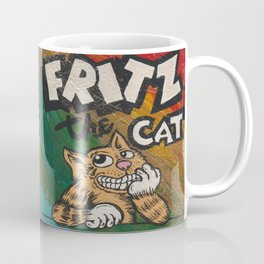 CULT ICON, FRITZ THE CAT by DAVID C*J BUNN Coffee Mug