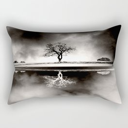 SOLITARY REFLECTION Rectangular Pillow