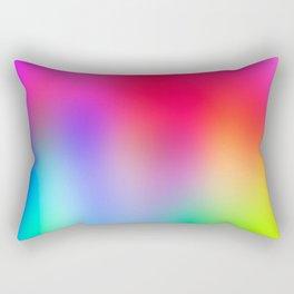 Fluorescent Neon Colors Rectangular Pillow