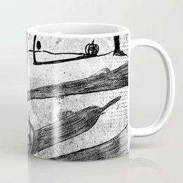 Walking raven Coffee Mug