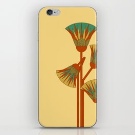 Ancient Egyptian lotus - Colorful iPhone Skin