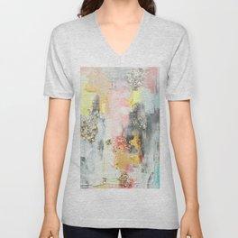 Abstract #3 by Jennifer Lorton Unisex V-Neck