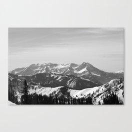 Mt. Timpanogos Canvas Print
