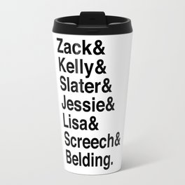 Saved By The Bell Travel Mug