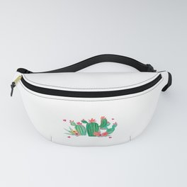 Cactus Puns Cacti Lover Don't Be A Prick Succulent Botanist Gift Fanny Pack