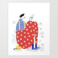 Days Art Print