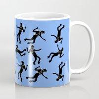 scuba Mugs featuring Scuba Divers by elledeegee