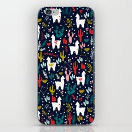 Cute Alpaca iPhone Skin