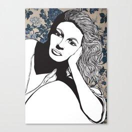 Frances Farmer Canvas Print