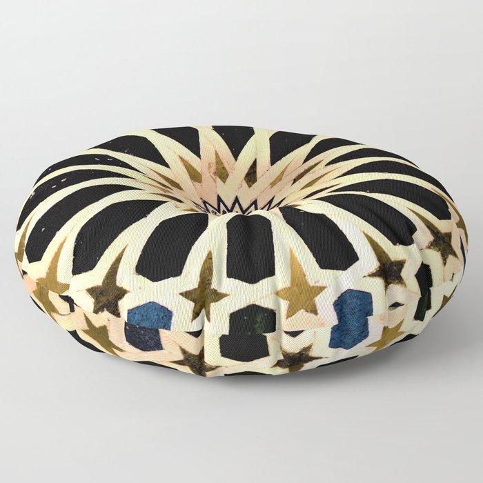 Azulejo de La Alhambra Floor Pillow
