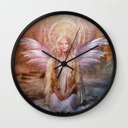 Freyja's Daughter Wall Clock