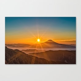 The Southern Alps Canvas Print