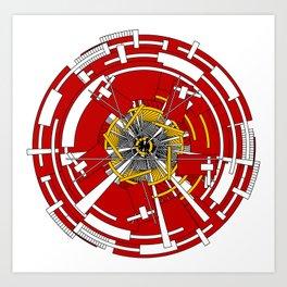 Circular Staircase #1 Art Print