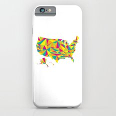 Abstract America Bright Earth Slim Case iPhone 6s