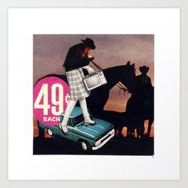 49 Cents Art Print