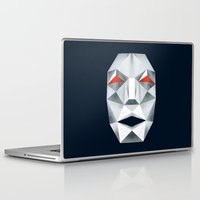starfox Laptop & iPad Skins featuring Star Fox Andross Lylat Lowpoly Laugher by Barrett Biggers