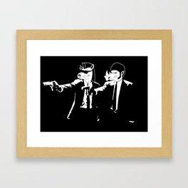 Mutant Fiction Framed Art Print