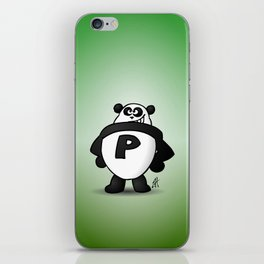 Panda Power iPhone Skin