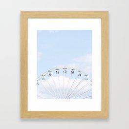 Jardin des Tuileries, Paris Framed Art Print