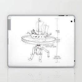 Mechanism for Inland Pirating.  Laptop & iPad Skin