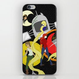 The Lunar Chronicles iPhone Skin