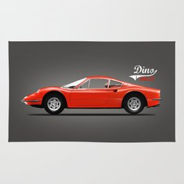 The Dino 246 GT Rug