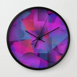Abstract cube Wall Clock