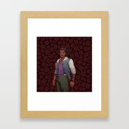 Dream Daddy: Mat Sella Framed Art Print
