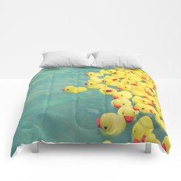 Escaping Normal Comforters